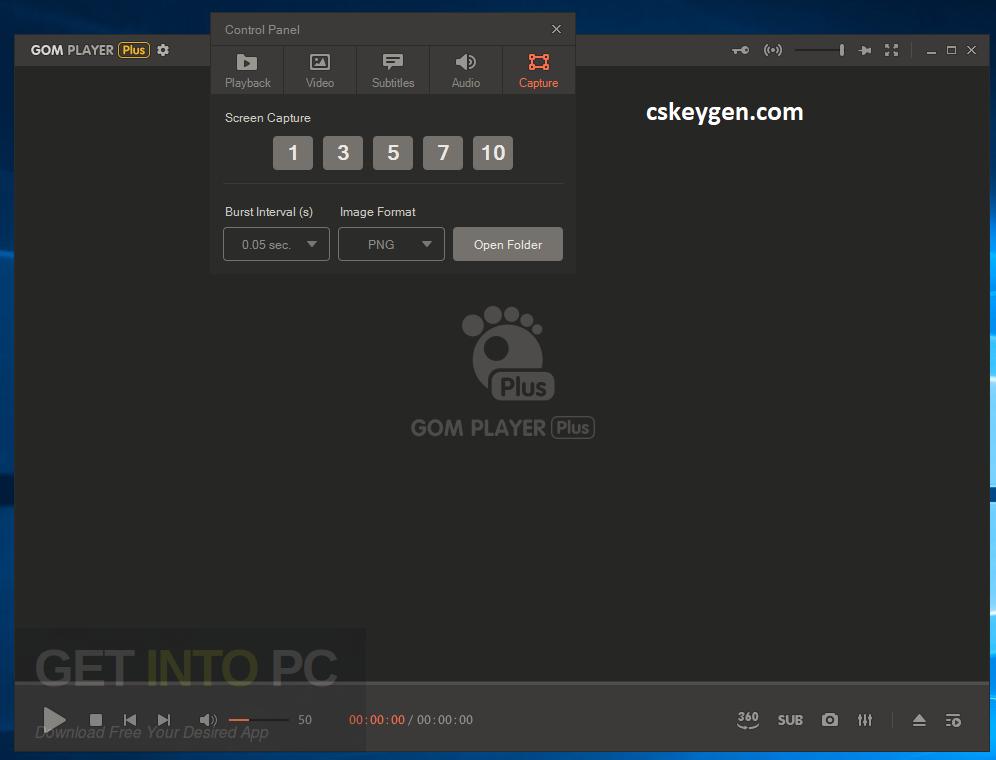 GOM Player Plus Serial Key
