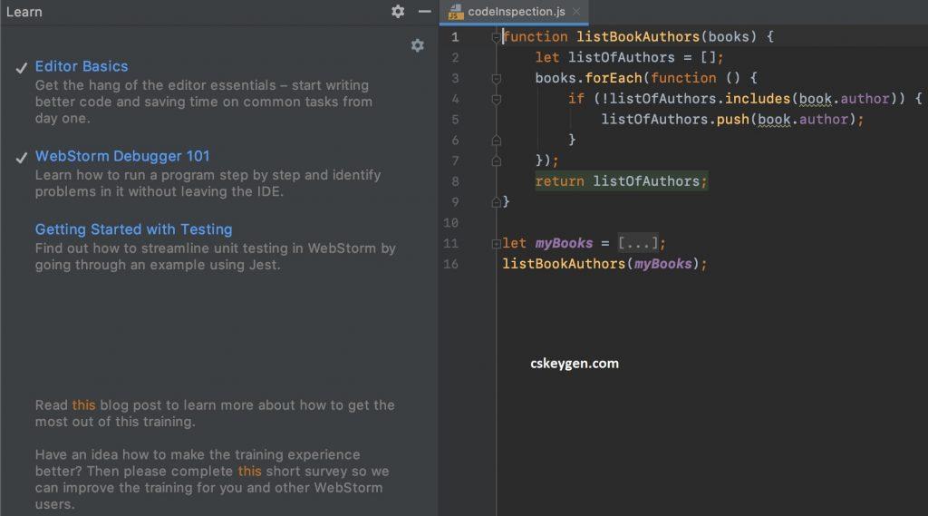 WebStorm Key